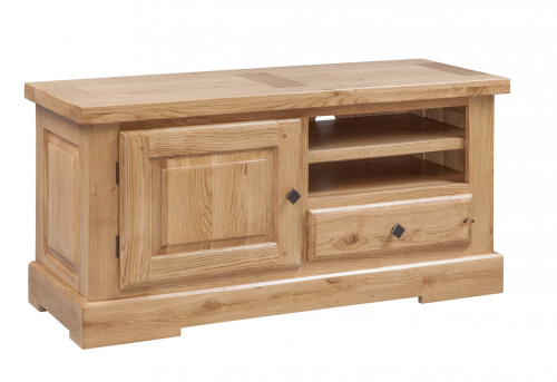 Hebden Solid Oak TV Cabinet