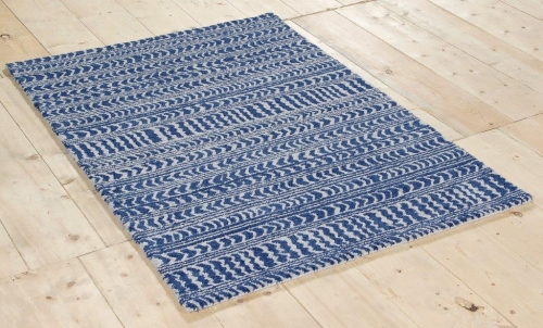 New Wool Stevenson Blue Rugs