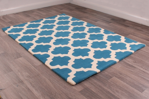 New Art 100% Wool Hand Tufted Rug