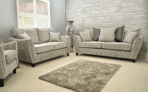 Ashford Fabric 3 Seat Sofa
