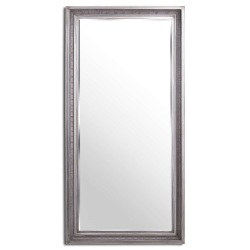 Oscar Antique Silver Full Length Mirror