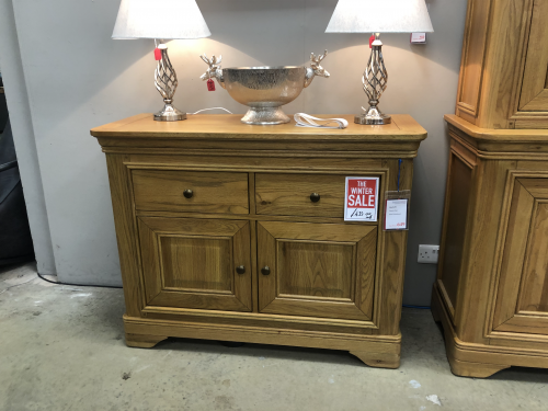 Rochelle French Oak Small Sideboard