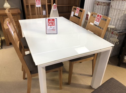 Easy Rider Extending Dining Table