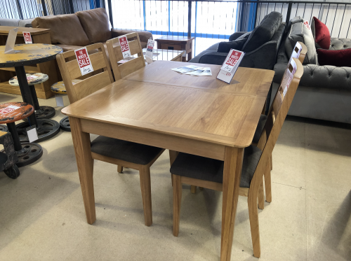 Harome Light Oak 120 Extending Table