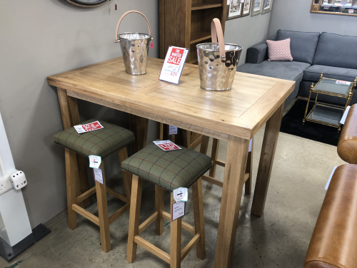 Emley Breakfast Bar Table