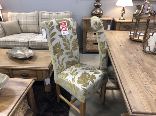 Highgrove Flower Olive Dining Chair