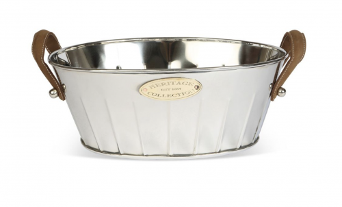 Heritage Leather Handled Champagne Bath