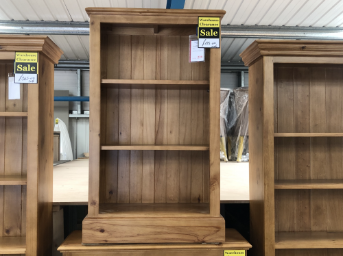 Coverdale Low Narrow Bookcase