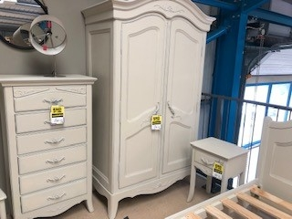 Epernay Painted 2 Door Wardrobe