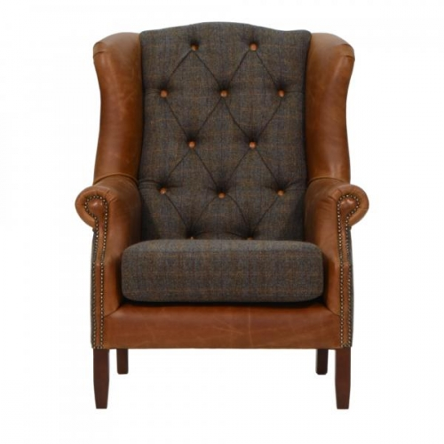 Lincoln Wing Armchair