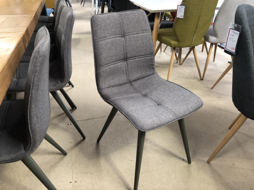 Milan Grey Dining Chair