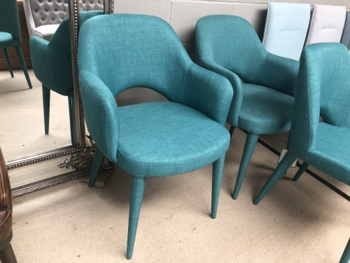 Lydia Upholstered Carver Chair