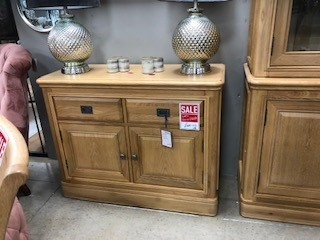 Biarritz French Oak Small Sideboard