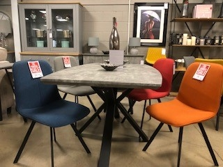 Sigma Dining Chair - Various Colours