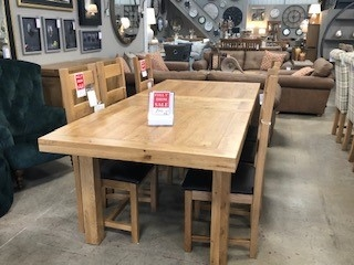 Oldstead 1.8 Ext Dining Table