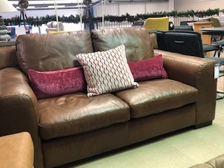 Oregon Leather 2 Seat Sofa