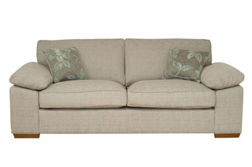 Lawton Fabric 3 Seater Sofa