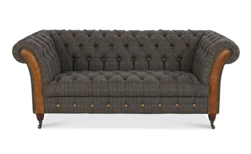 Heritage Jura 2 Seat Leather Sofa
