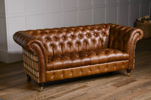 Heritage Jura 3 Seat Leather Sofa
