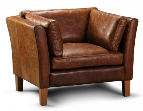 Newton Leather Arm Chair