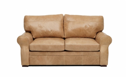 Rhodes 2 Seat Leather Sofa