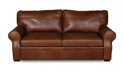 Rhodes 3 Seat Leather Sofa