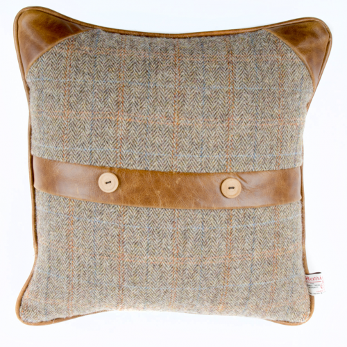 Heritage Belt & Button Cushion