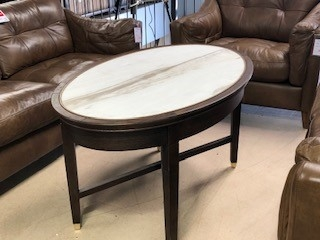 Grantley High Oval Coffee Table
