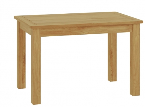 Brompton Oak Fixed Top Dining Table