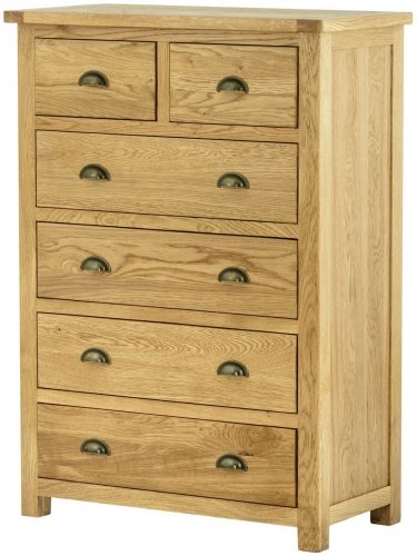 Brompton Oak 2 Over 4 Chest