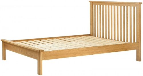 Brompton Oak 5'0 King Size Bed