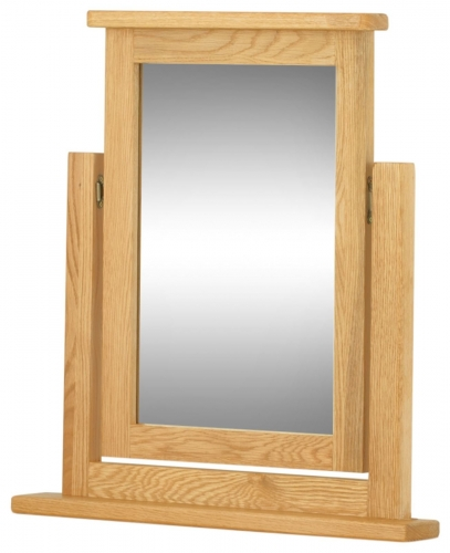 Brompton Oak Swing Mirror