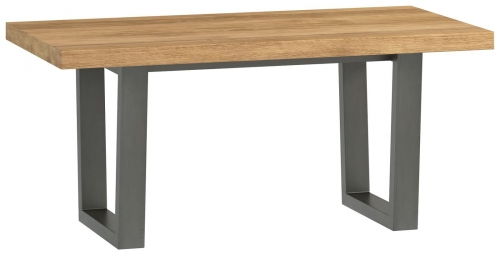 Telford Industrial Oak Coffee Table