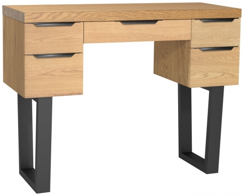 Telford Industrial Oak Dressing Table
