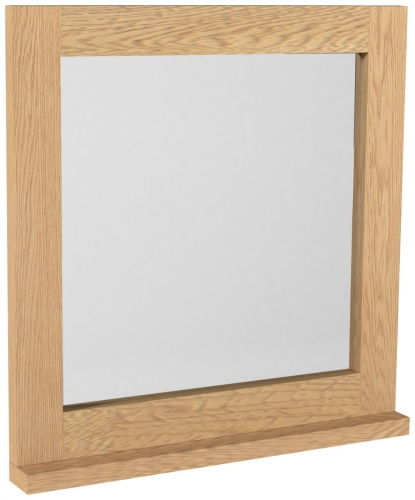 Telford Industrial Oak Dressing Table Mirror