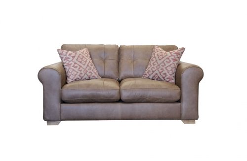 Pemberley Small Leather Sofa