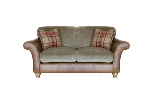 Lawrence Leather & Fabric Sofa - Small