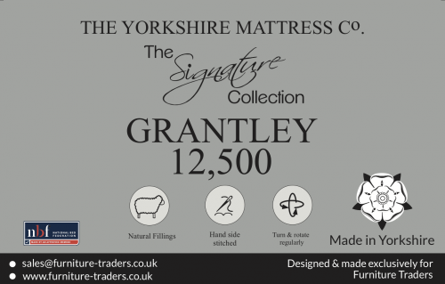 Grantley 12500 Pocket 3ft Single Mattress