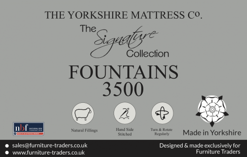 Fountains 3500 Pocket 3ft Single Mattress