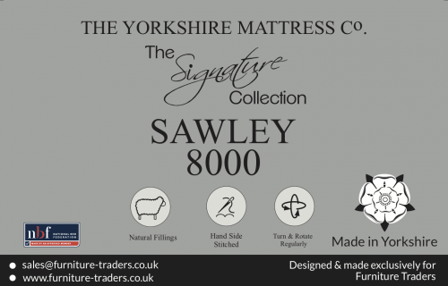 Sawley 8000 Pocket 6ft Super King Size Mattress