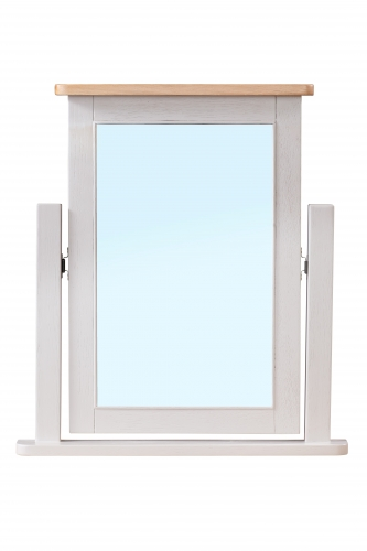 Leyburn Grey Painted Dressing Table Mirror