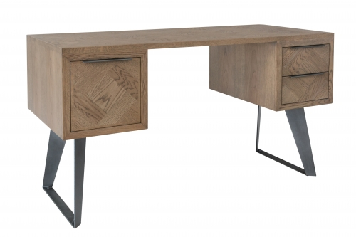 Detroit Parquet Oak Desk