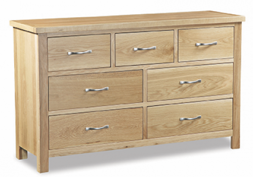 Ripley Light Oak 3 Over 4 Chest