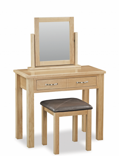 Ripley Light Oak Dressing Table Mirror