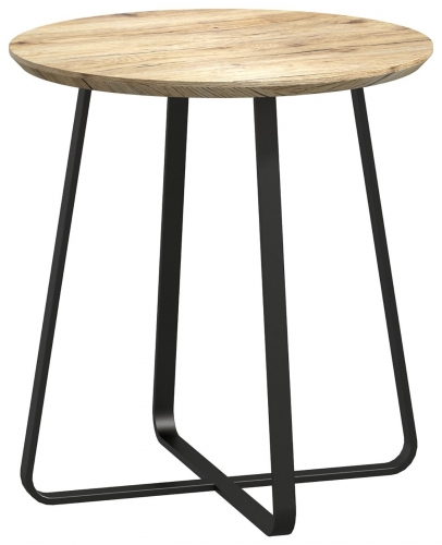 Brooklyn Industrial Round Wine Table