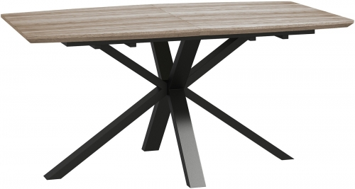Brooklyn Industrial Extending Dining Table