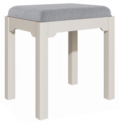 Ascot Grey Dressing Table Stool