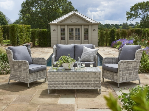 Helmsley 4 Seat lounge Set