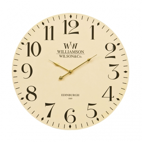 Williamson Cream Clock