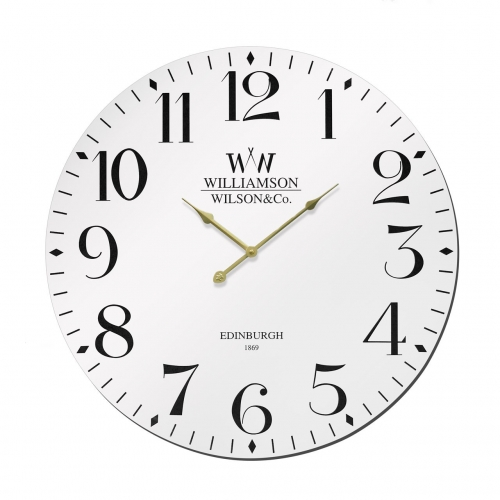 Williamson White Clock